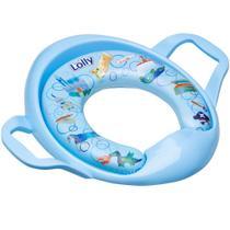 Assento LOLLY Redutor Infantil Estofado Na Cor AZUL - Lolly (lolni)