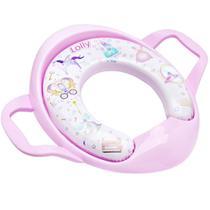 Assento LOLLY Redutor Infantil Estofado Na Cor ROSA - Lolly (lolni)