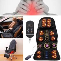 Assento Massageador De Lombar E Pescoco Almofada Cadeira -