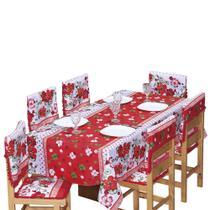 Assento para Cadeira com Enchimento Flores Resistente - Outfiter