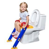 Assento Redutor Com Escada Azul e Amarelo 3560 Dican -