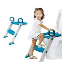 Assento Redutor Infantil Bebe Com Escadinha Antiderrapante Para Vaso Sanitário Troninho Com Degrau - Amigold