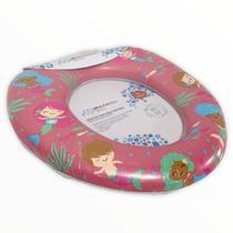 Assento Redutor Infantil Bebês Vaso Sanitário Universal Meninas - Multikids