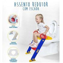 Assento Redutor Para Vaso Sanitario Infantil Com Escada Troninho Com Escadinha Para Criança - Ohana