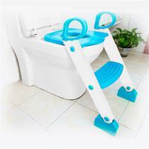 Assento Redutor Sanitário Com Escada Azul Kababy -