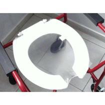 Assento Sanitário Aberto para Cadeira de Rodas de Banho Log - Mebuki