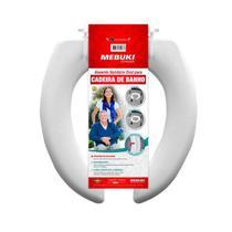 Assento Sanitário Almofadado Aberto Para Cadeira de banho 3cm Mebuki -