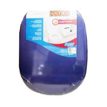 Assento Sanitário Almofadado Icasa Sabatini Azul Astra -