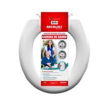 Assento Sanitário Fechado Para Cadeira de banho 3cm Mebuki -