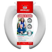 Assento Sanitário  Para Cadeira de Banho Aberto -  Mebuki -