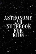 Astronomy Lab Notebook for Kids - Inge baum