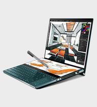 Asus ZenBook Pro Duo UX581 (Laptop Gamer) i7-10750H tela 15' UHD 4K RTX 2060 SSD 2Tb NVMe RAM 32Gb -
