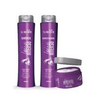 Atacado 24 loiro intenso shampoo condicionador e máscara mahair -