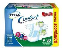 Atacado Fralda Geriátrica Tena Confort - 3 Pacotes Tam P Com 30 Unid. -