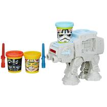 Ataque AT AT Massinha Play-Doh Star Wars - Hasbro B5536