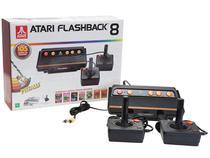 Atari Flashback 8 Tec Toy 2 Controles - Fabricado no Brasil com 105 Jogos na Memória
