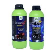 Ativado Limpa Bau + Limpa Motor Super Concentrado - Maxbio