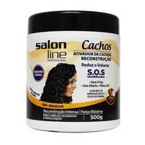 Ativador De Cachos Reconstrução 500g - Salon Line -