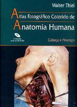 Atlas Anatomia Humana - Cabeca E Pescoco + Cdrom / Thiel - Revinter