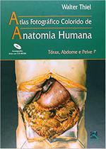 Atlas anatomia humana - torax abdome e pelve + cdrom - Revinter