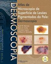 Atlas de dermoscopia - Di Livros Editora Ltda