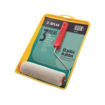 Atlas Kit De Pintura 03 Peças 1001 -