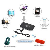 Áudio Transmissor Receptor Sinal Bluetooth 5.0 Tv Som 2 Em 1 - S.G STYLE