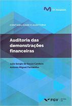 Auditoria das demonstrações financeiras - Fgv