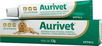 Aurivet 13g Vetnil Tratamento Otites Cães -