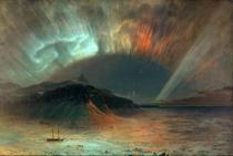 Aurora Boreal - Frederic Edwin Church - 60x89 - Tela Canvas Para Quadro - Santhatela