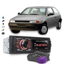 Auto Rádio Automotivo Bluetooth Aparelho De Som Vw Gol G2 Pendrive Usb - Knup