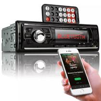 Auto Radio Automotivo Bluetooth Mp3 Player Usb Sd Som Carro - Knup