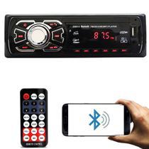 Auto Radio Automotivo Bluetooth Mp3 Player Usb Sd Som Carro - Tsshop