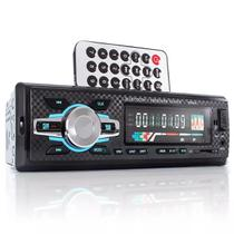 Auto Rádio Bf-9662 Som Automotivo Bluetooth Mp3 Player Fm Sd - Briwax
