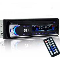 Auto Rádio Bluetooth  Automotivo Usb Mp3 Auxiliar JSD-520 - Dex