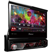 Auto Radio CD/DVD/USB/AM/FM AVH-3880DVD Preto Pioneer -