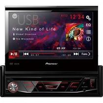 Auto Rádio CD/DVD/USB/AM/FM AVH-3880DVD Preto PIONEER -