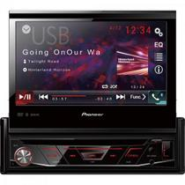 Auto Radio CD/DVD/USB/AM/FM/BLUETOOTH AVH-4880DVD Preto Pioneer