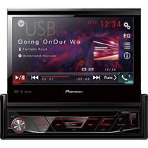 Auto Radio CD/DVD/USB/AM/FM/BLUETOOTH AVH-4880DVD Preto Pioneer -