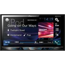 Auto Radio CD/DVD/USB/TV/AM/FM/BLUETOOTH AVH-X5880TV Preto Pioneer