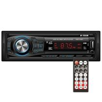 Auto Radio H-Tech Fm Usb Sd Aux Bluetooth 4x15 HMP-6000 BT