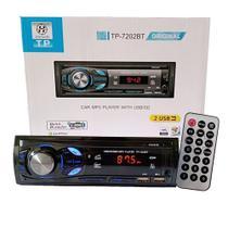 Auto Rádio Honesty TP-7202BT com 2 entadas USB e Bluetooth - Honestv -