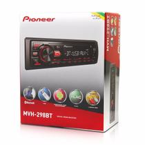 Auto Rádio mp3 Pioneer Mvh-298bt bluetooth usb rca