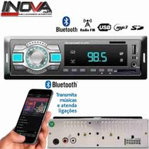 Auto Radio Mp3 Player Fm Aux Usb Sd Bluetooth Automotivo Som - Rayx