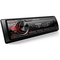 Auto radio pioneer com bt usb aux mvh-s218bt -