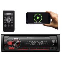Auto Radio Pioneer Mp3 Usb Mvh-S118ui Controle Rca AM fM Auxiliar -