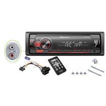 Auto radio pioneer mvh-s108ui c/ controle -