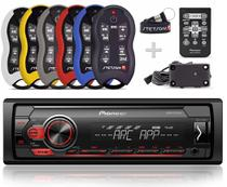 Auto Radio Pioneer Mvh-s118ui + Controle Longa Distancia Stetsom Sx2 500 metros -