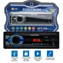 Auto Radio Positron Sp2210ub Usb Micro Sd Aux Mp3 Automotivo