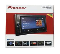 Auto Radio receiver Double Din Pioneer Mvh-g218bt Bluetooth Usb Auxiliar Mp3 -